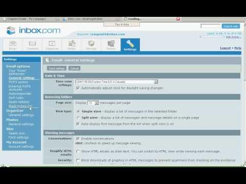 CraigslistEmailer Tutorial - Add Inbox.com account to your ...