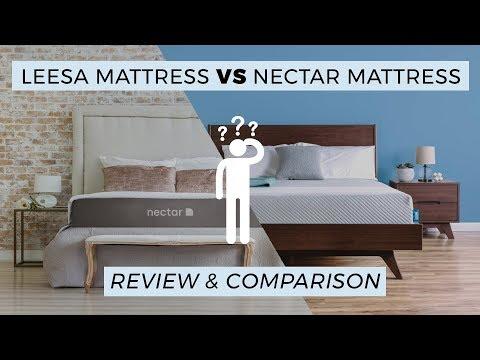 Leesa vs Nectar Mattress Review