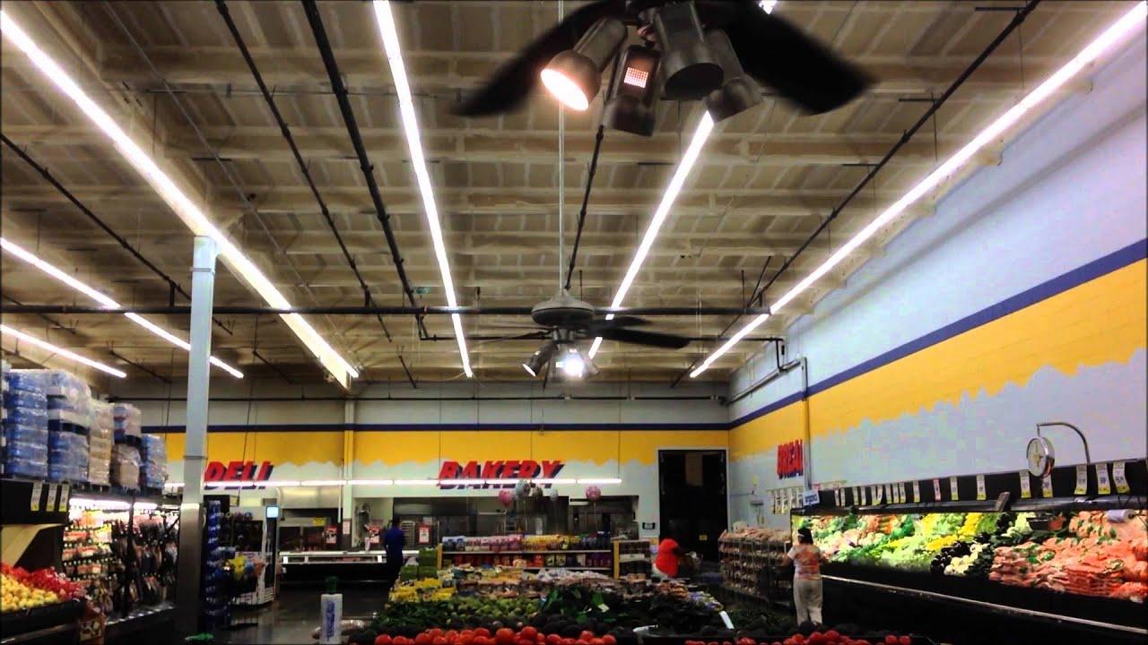 "Four 52"" Hampton Bay Redington III Ceiling Fans FoodMaxx in"
