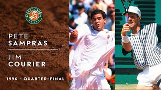 Pete Sampras vs Jim Courier - Quarter-final | Roland-Garros 1996