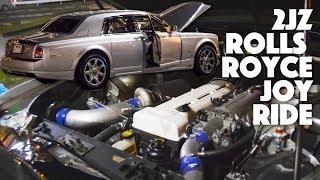 The 2JZ Swapped Rolls Royce Phantom