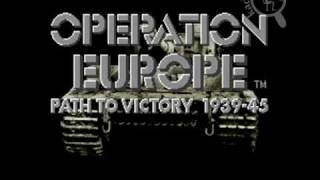 [Intro][SNES] Operation Europe - Path to Victory 1939-45