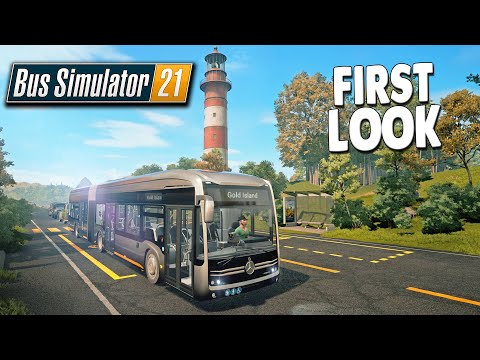 They Put Me in the Game! EARLY LOOK - Realistic Bus Driving Simulator | BUS SIMULATOR 21 Gameplay