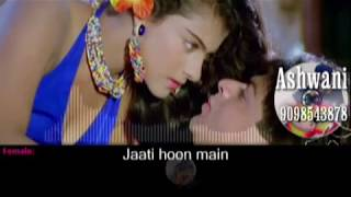 Jaati Hoon Main karaoke with female voice