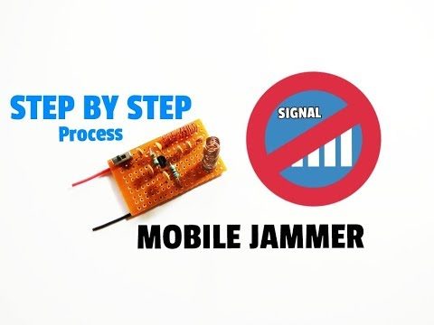 Mobile Signal Jammer Circuit | How To Make Mobile Signal Jammer Using Some Simple Components..