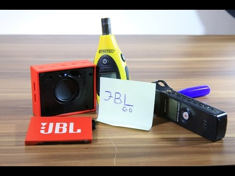 how to remove jbl go grill speakers excursion bass db test youtube. Black Bedroom Furniture Sets. Home Design Ideas