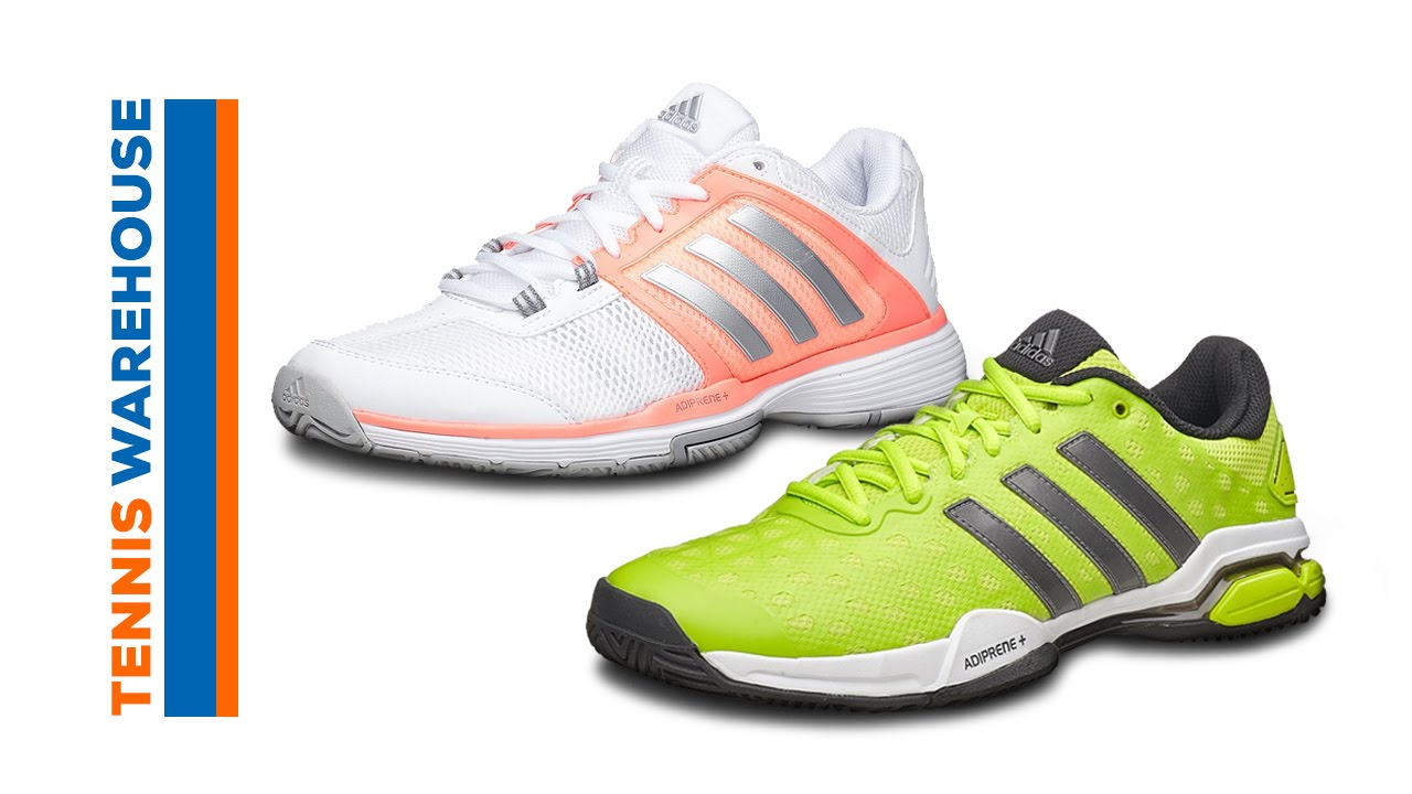 adidas Barricade Club Tennis Shoe - YouTube e11b26b71