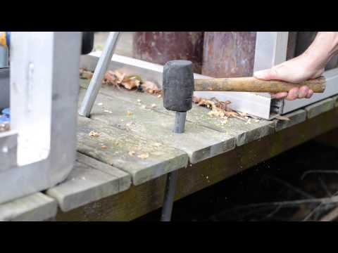 Installing Sentry Safety Pool Fence into Wood Decks