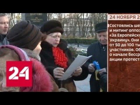 Евромайдан. Начало событий в 2013 году - Россия 24