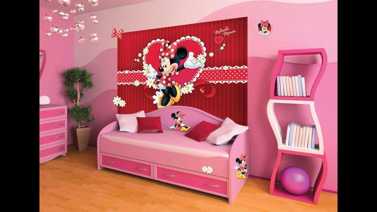 minnie mouse room decor Minnie Mouse Bedroom Ideas   YouTube minnie mouse room decor
