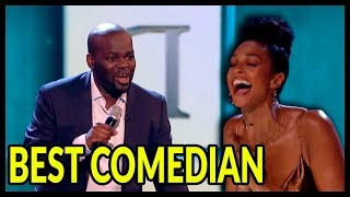 """Top 10 """"TRY NOT TO LAUGH"""" HILARIOUS BEST EVER Comedians of ALL THE TIME on AGT, BGT and WORLD!"""