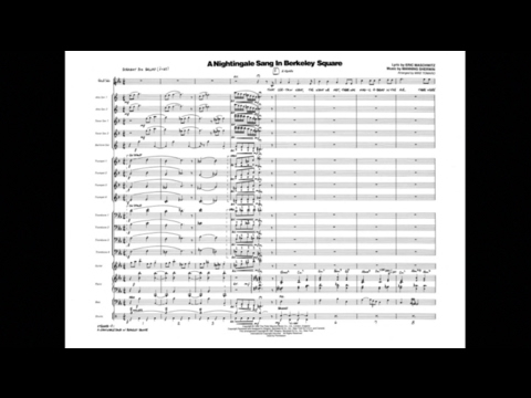 A Nightingale Sang in Berkeley Square arranged by Mike Tomaro