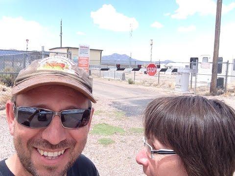 Arrivée à la Back Gate de la Zone 51 au Nevada