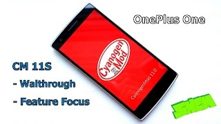 OnePlus One- CyanogenMod 11S (CM11S)  Walkthrough and Feature Focus