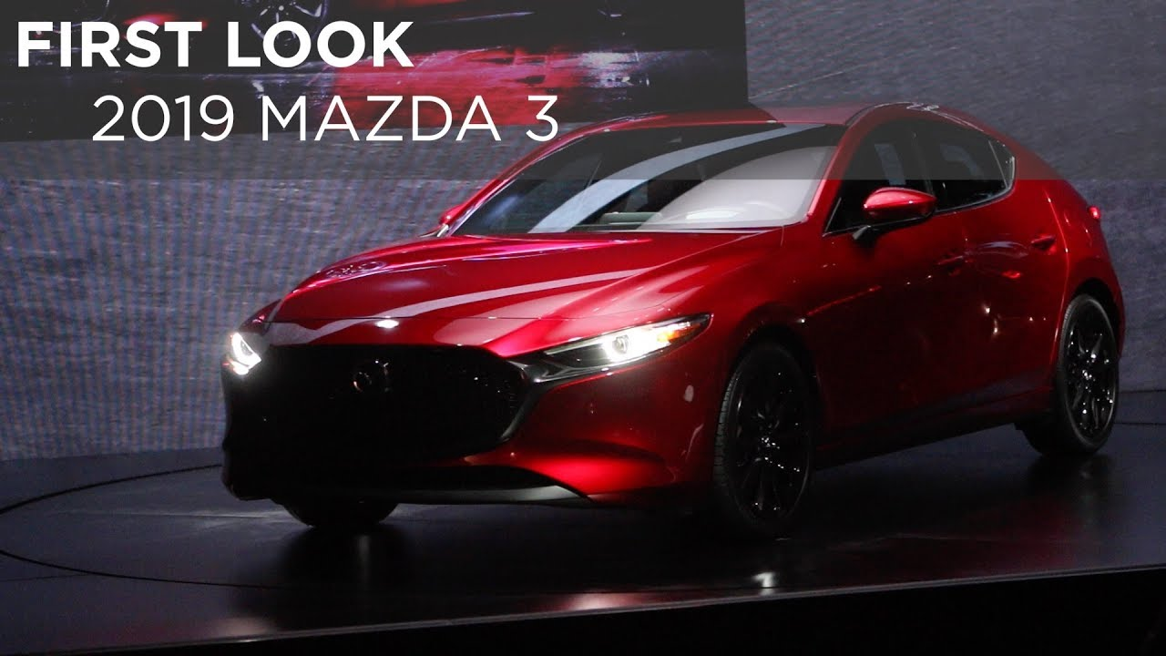 First Look | 2019 Mazda 3 | Driving.ca - YouTube