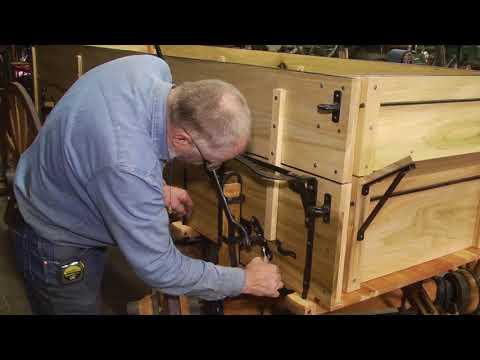 Rebuilding an International wood wheel wagon part 3