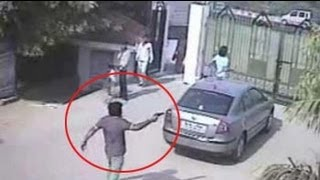 Cops release CCTV footage of men who allegedly shot BSP leader in Delhi farmhouse