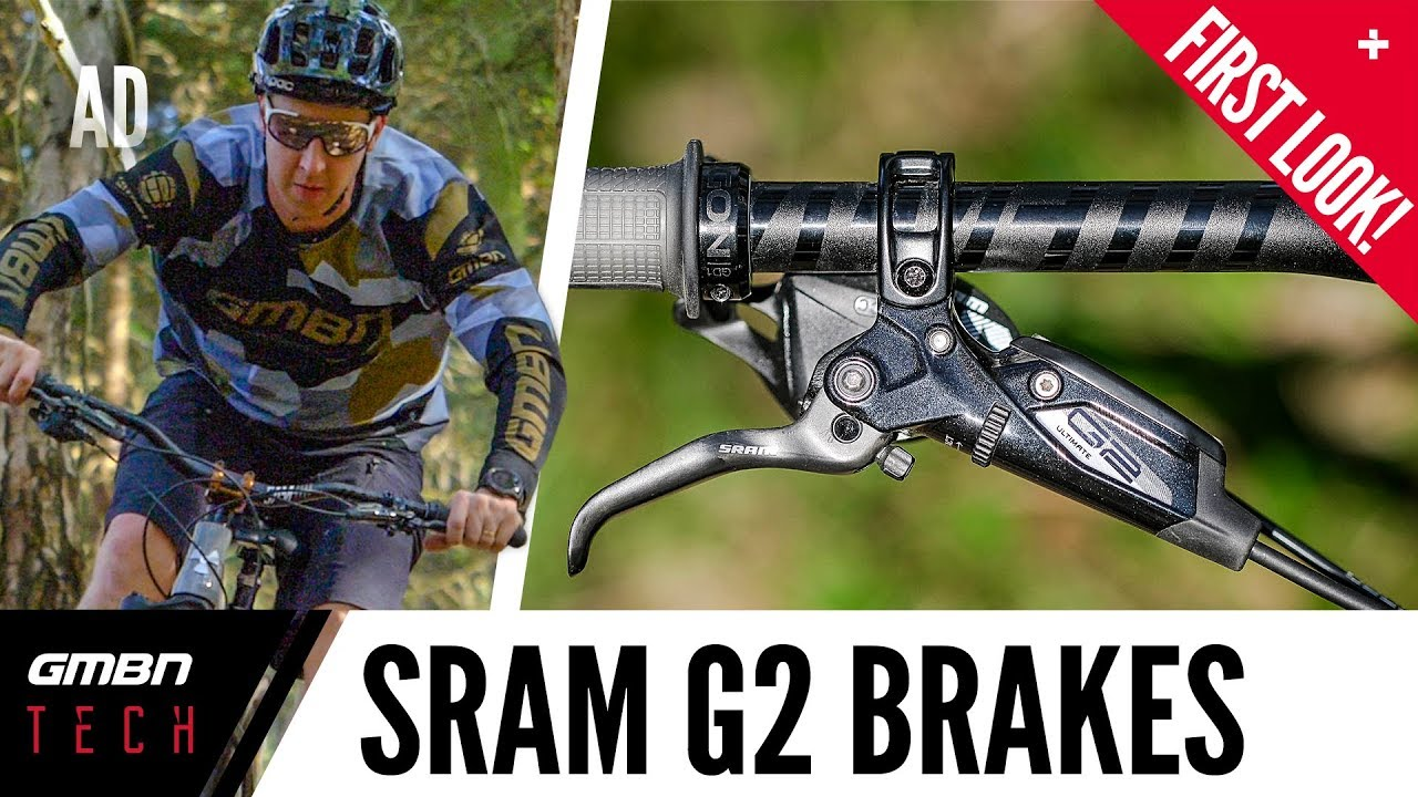 6155b08c3a9 The New SRAM G2 Brakes | GMBN Tech's First Look At SRAM's New MTB Brakes -  YouTube