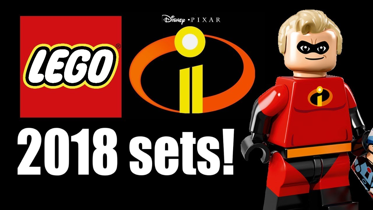 Lego Incredibles 2 Sets Coming In 2018 Youtube