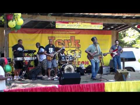 Crucial Fiya live at the NC Jerk Festival in Durham, NC - September 24, 2016