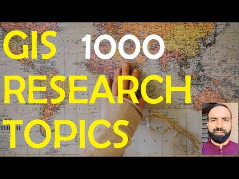 GIS Research Topics [GIS Porofessional] And [GISGeography]
