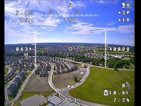 Lithium Ion battery pack test flight