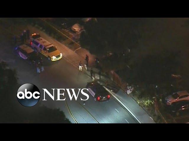 At least 11 injured in shooting at California bar