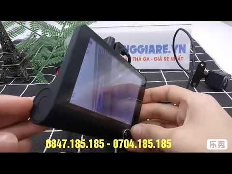 Review Camera hành trình ô tô 3 mắt – Hướng dẫn cài đặt chi tiết | khohanggiare.vn