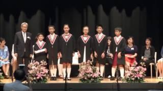 滬江小學_第二十八屆畢業典禮 - 頒發畢業證書6A