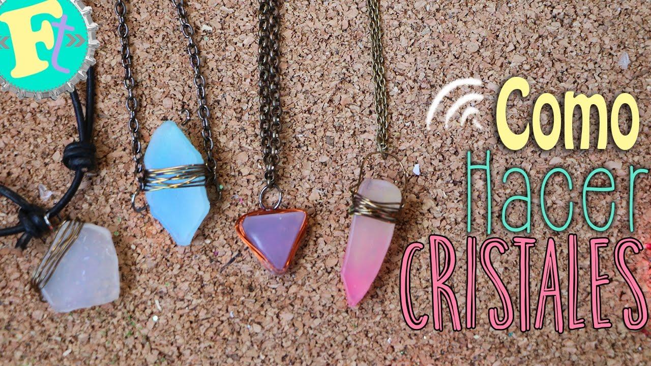 Como hacer cristales o cuarzos estilo tumblr youtube - Como hacer conchas finas ...