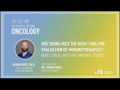 Oncology Session - April 7, 2021, Aaron Rose, Ph.D.