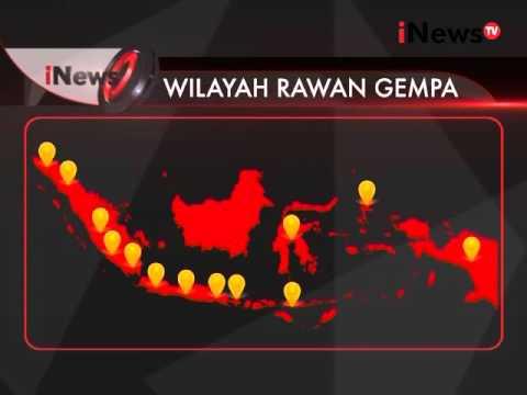 13 Wilayah Indonesia Rawan Gempa - INews Petang 03/03