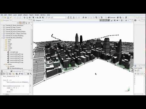 #8 CityEngine Tutorial: Mass Modeling