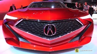 Acura Precision Crafted Performance Concept - Exterior Interior Walkaround - 2016 Detroit Auto Show