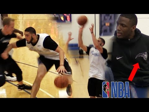 """LiAngelo Ball SHOT THE LIGHTS OUT """"LITERALLY"""" in Scrimmage!! ON FIRE In Pre Draft!"""