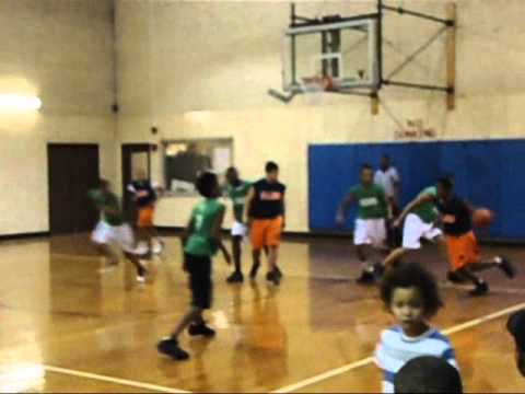 Basketball program, Loyola Park District, Chicago,
