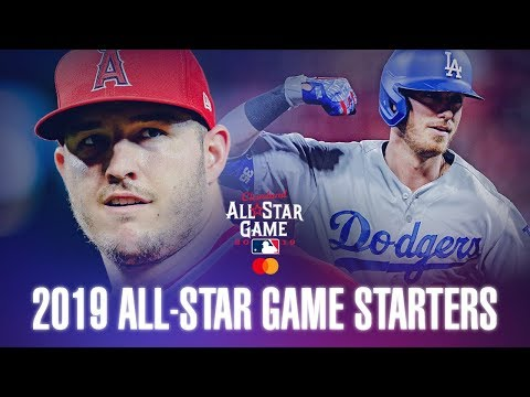 2019 MLB All-Star Starters! (Best in the Game)