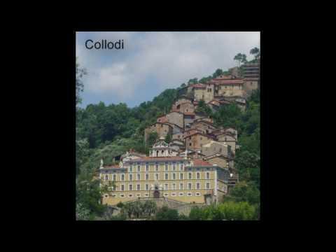Collodi Village - home of the late Pinocchio writer Carlo Collodi