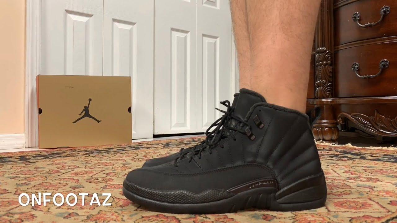 buy online a277f 81c46 Air Jordan 12 XII Winterized On Foot