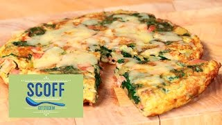 Ham & Spinach Spanish Omelette | Cooking For Kids S3e4/8