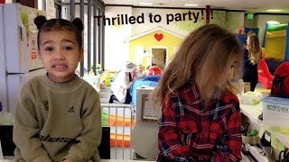 North West Becomes Instant Meme Material in Hilarious Birthday Party Photo