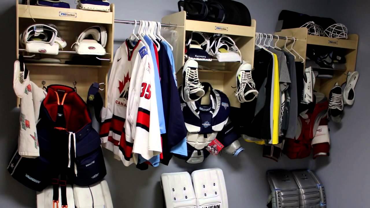 PROlocker: Superior Hockey Equipment Lockers, Hockey Equipment Hangers - Equipment Dryer & Organizer