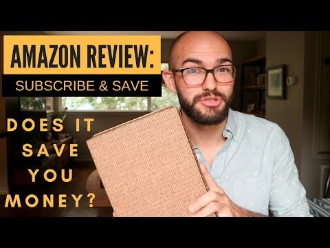 Amazon subscribe and save review | EASY MONEY SAVINGS