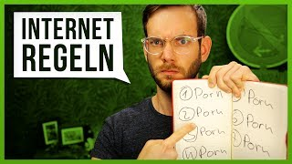 10 Regeln des Internets