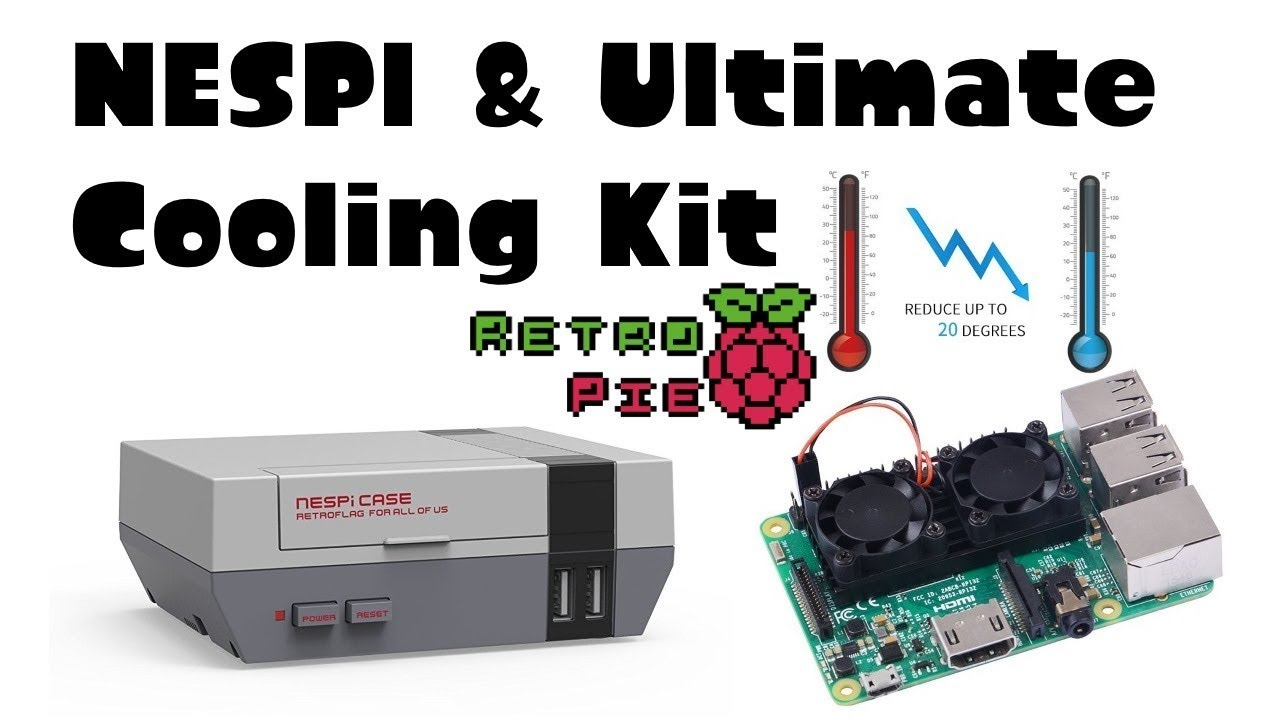 Review Nespi Case Amp The Ultimate Cooling Kit Dual Fan
