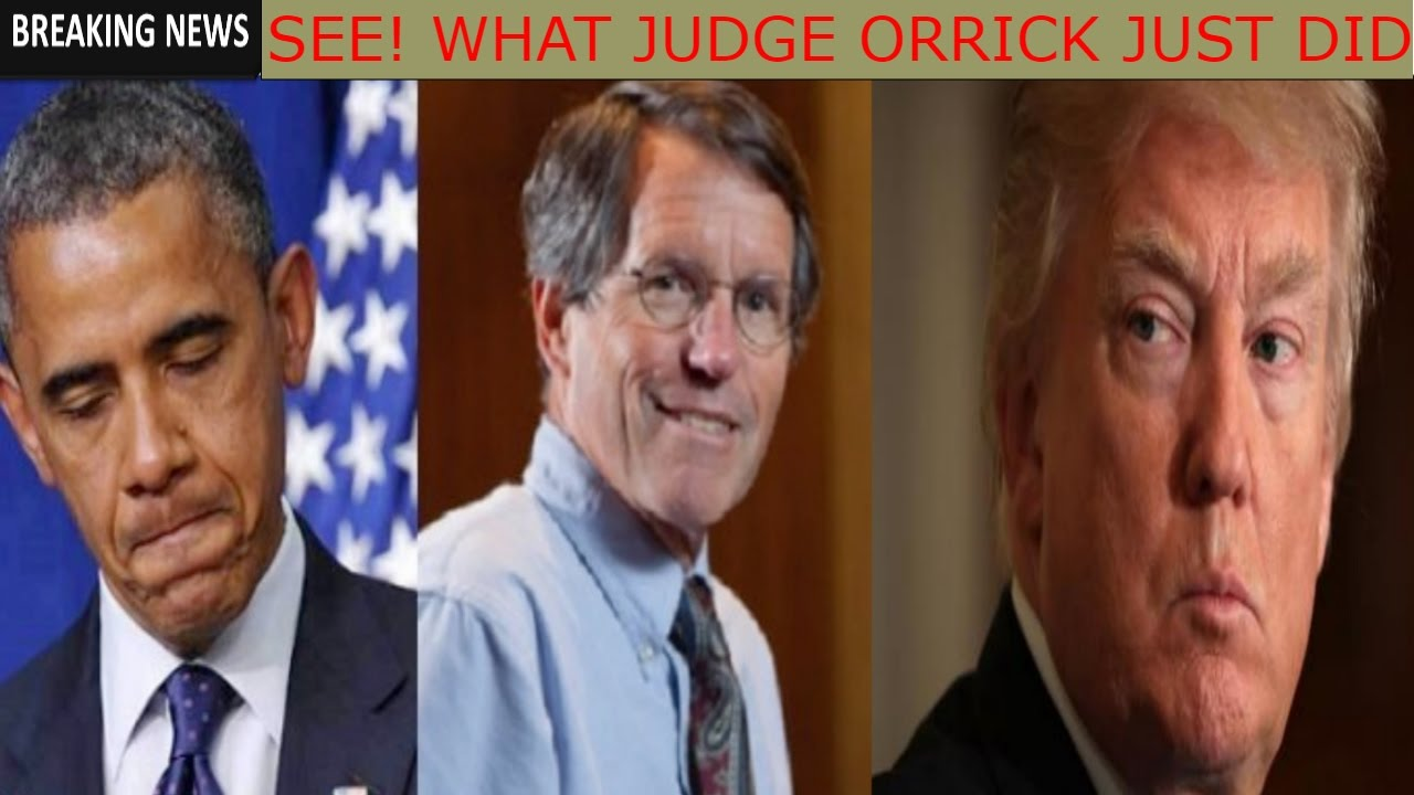 Image result for Judge William Orrick III sanctuary cities