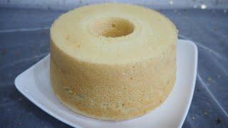 香草戚风蛋糕 Vanilla Chiffon cake I 幸福料理