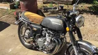 Pt.2 Cb350 Four junkyard find and now runs!
