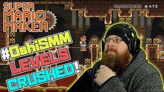 VIEWER LEVELS CRUSHED - Super Mario Maker - #OshiSMM Episode 7 with Oshikorosu!