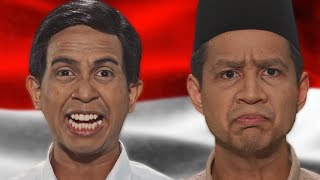 SkinnyIndonesian24 | Prabowo VS Jokowi - Epic Rap Battles Of Presidency